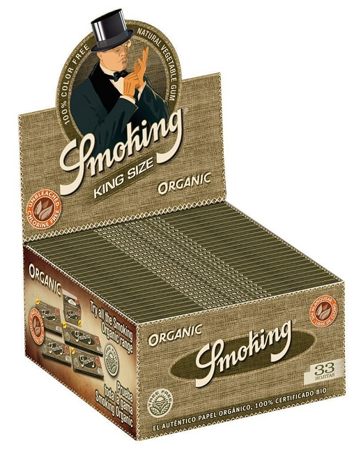 Smoking organic ks Display