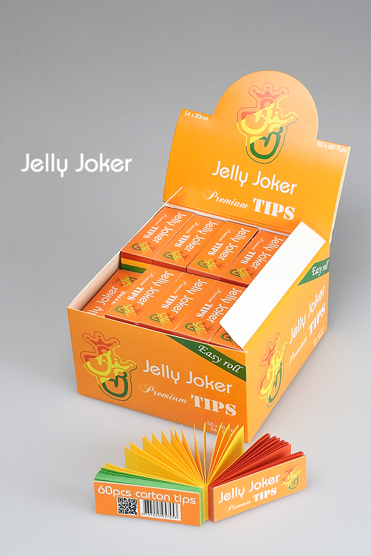 Rastafari JJ Tips – 50 x 60 Tips – Perforiert