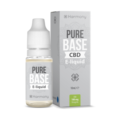 Harmony - Eliquid - Pure Base - 300mg CBD