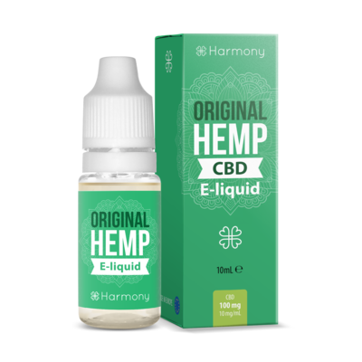 Harmony - Eliquid - Original Hemp - 100mg CBD