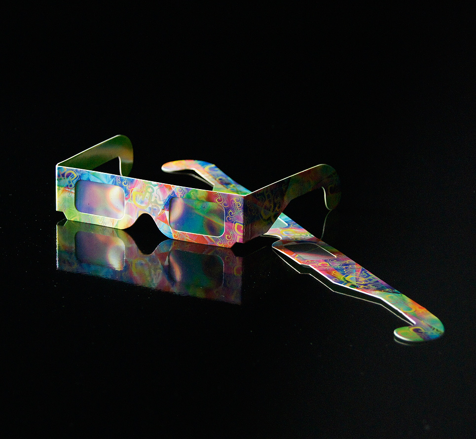 LSD Goggles with the special effect
