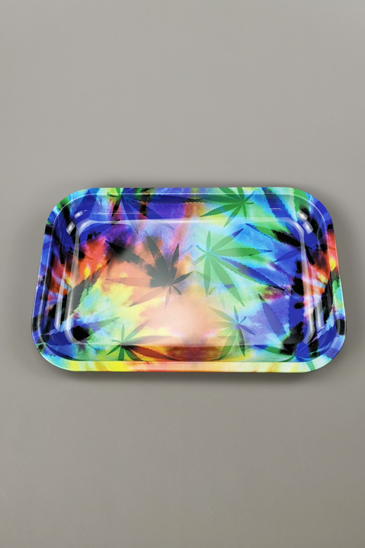 Rolling tray from metal  19 x 28,5cm