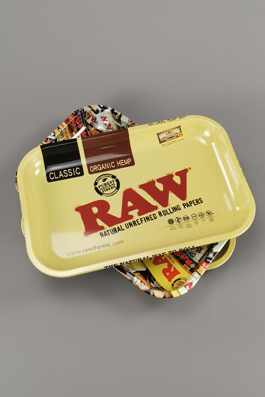 RAW Rolling tray from metal  19 x 28,5cm