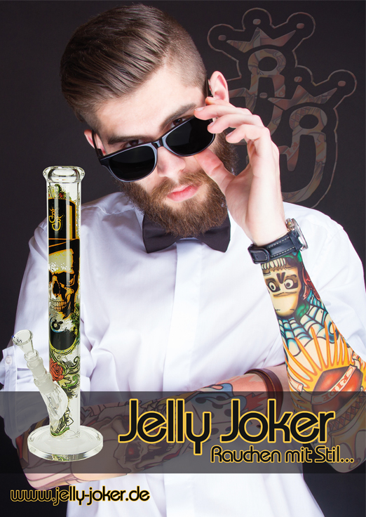 Jelly Joker Poster Skull