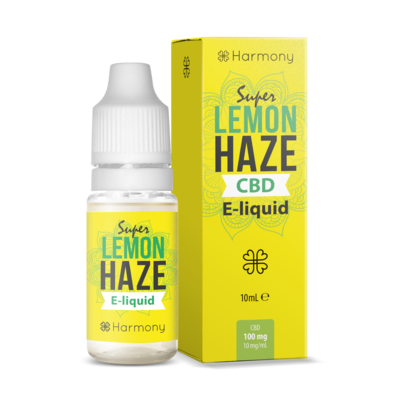 Harmony - Eliquid - Super Lemon Haze - 300mg CBD