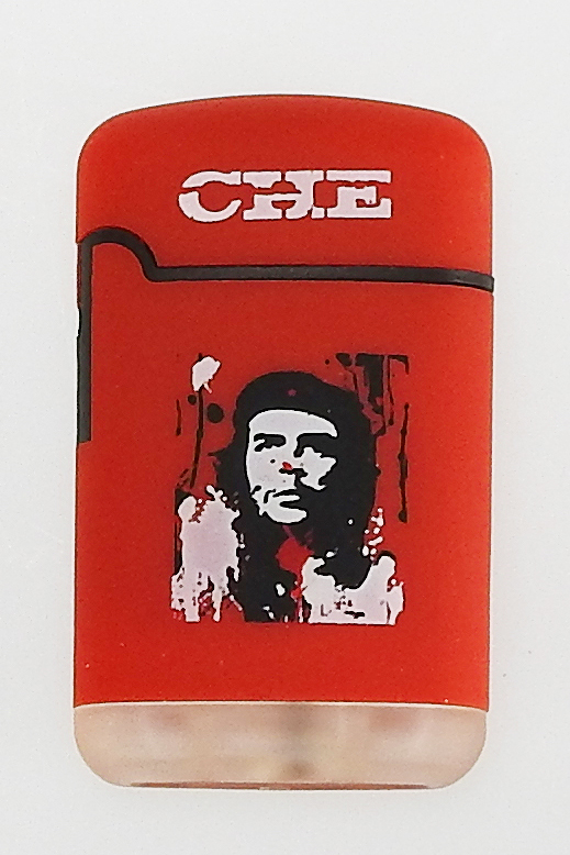 Che Guevara Jetflame Lighter rubber red